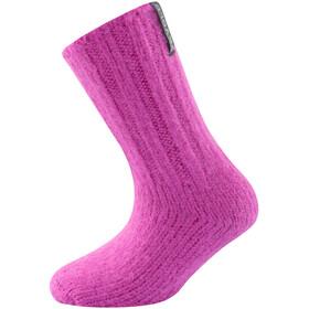 Devold Nansen Sokken Kinderen, roze